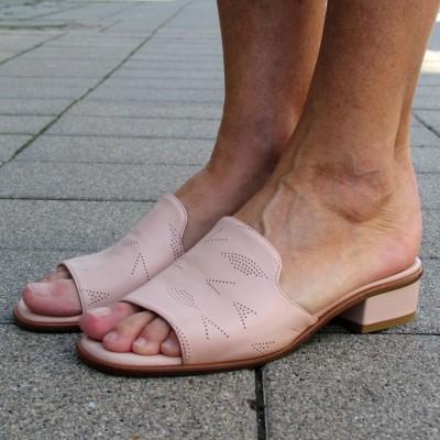Alexandra púderrózsaszín papucs