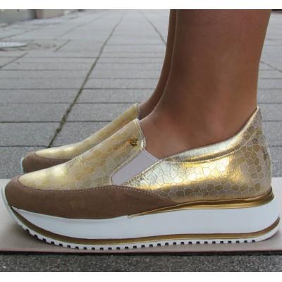 Cango & Rinaldi arany sportos cipő