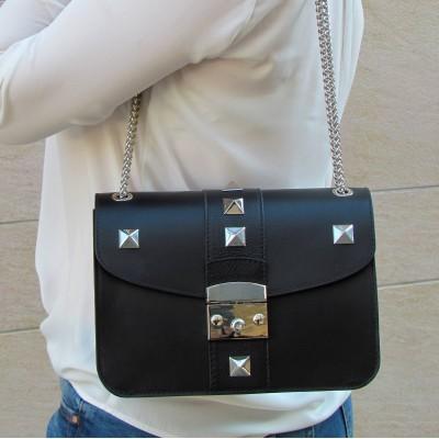 Cango & Rinaldi fekete átdobós táska
