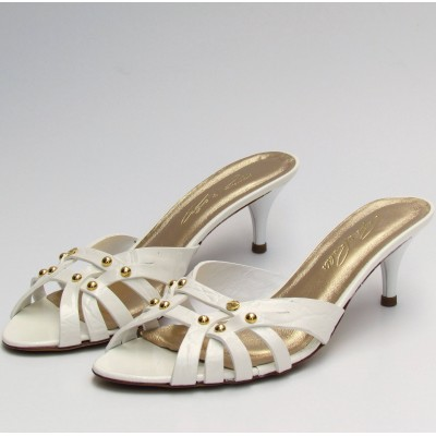 Cango & Rinaldi fehér papucs
