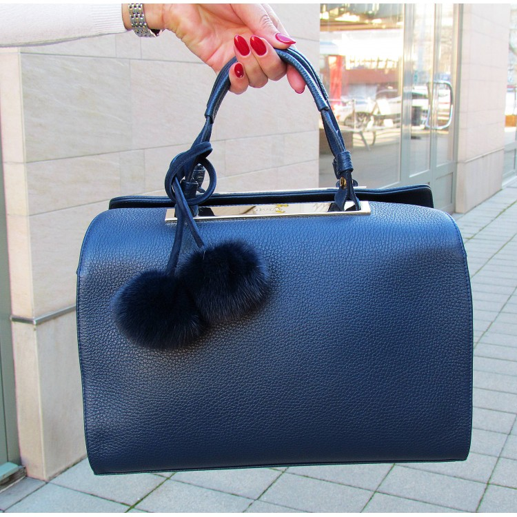 Dyva kék táska
