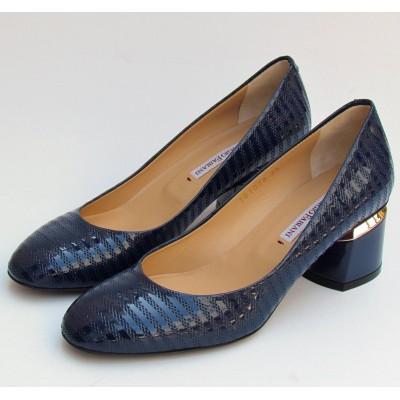 Giorgio Fabiani kék alkalmi cipő