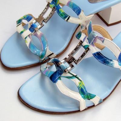 Loretta Pettinari kék papucs