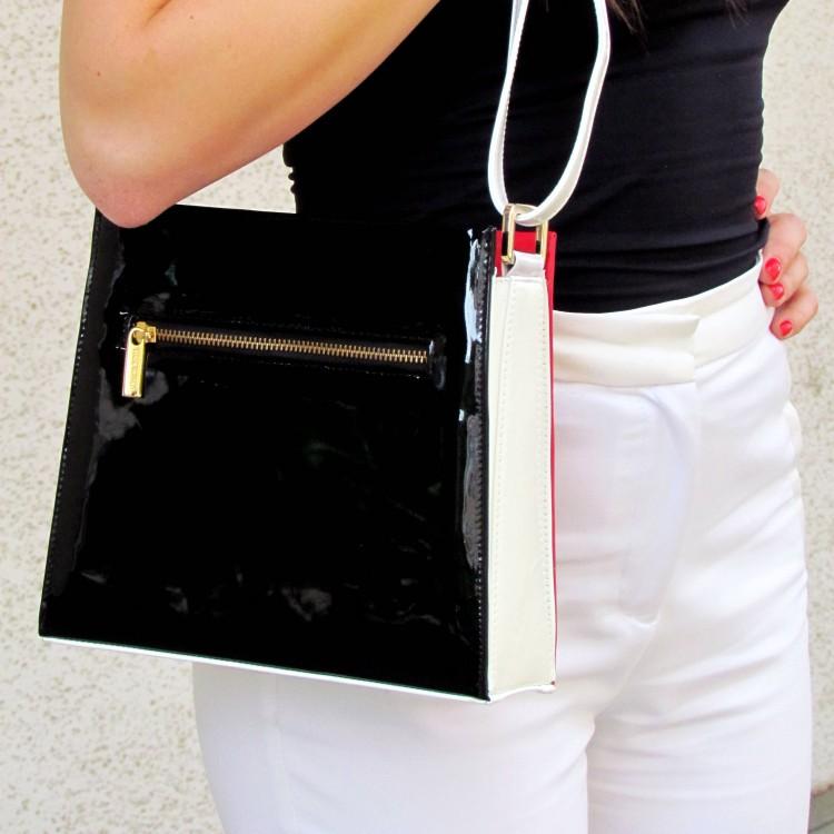 Loretta Pettinari átdobós táska