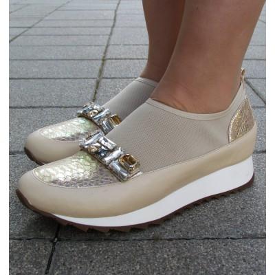 Loriblu bézs sportos cipő