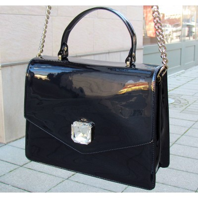 Marino Fabiani sötétkék átdobós táska