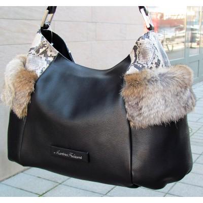 Marino Fabiani fekete táska
