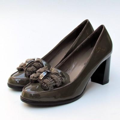 Nouchka szőrmés cipő