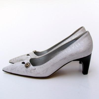 Nouchka ezüst alkalmi cipő