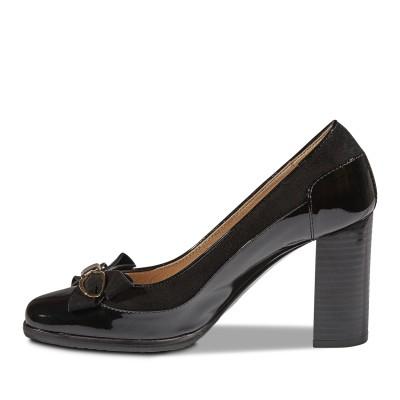 Nouchka fekete lakk cipő