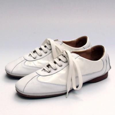 Pascucci fűzős fehér cipő