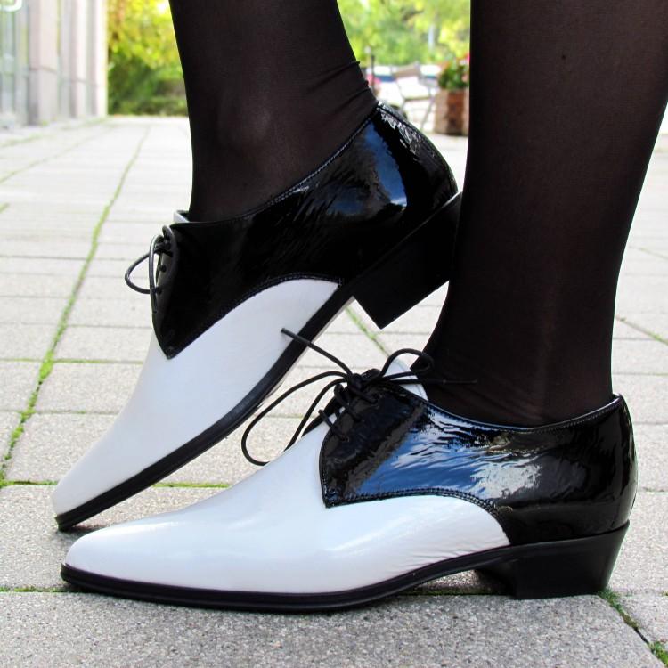 Pertini fehér-fekete cipő