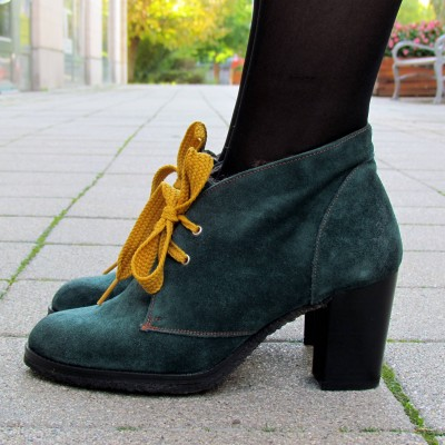Pertini zöld bokacipő