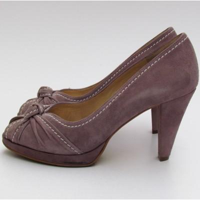 Peter Kaiser világoslila magassarkú cipő