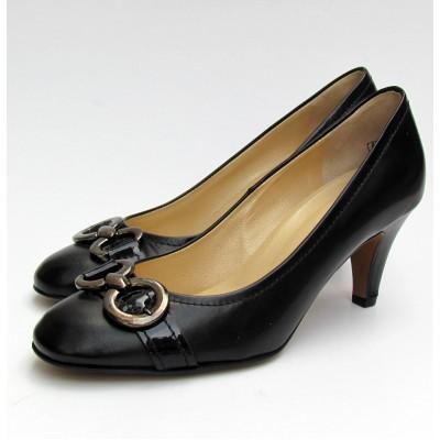 Peter Kaiser fekete alkalmi cipő