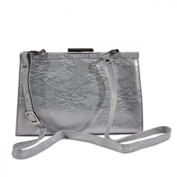 Peter Kaiser ezüst csipkés táska
