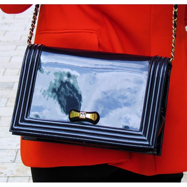 Sandro Vicari sötétkék táska