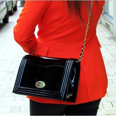 Sandro Vicari fekete táska