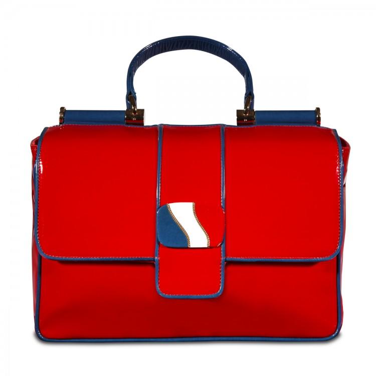 Sandro Vicari piros táska