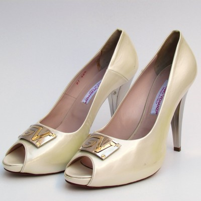 Giuliano Venanzi krém cipő