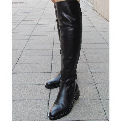 Zocal fekete hosszú csizma
