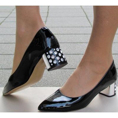 Zocal fekete alkalmi cipő