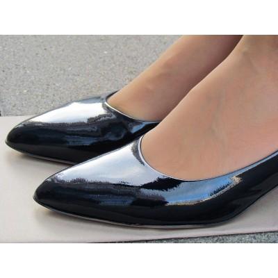 Zocal sötétkék alkalmi cipő