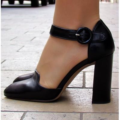 Zocal magas fekete cipő