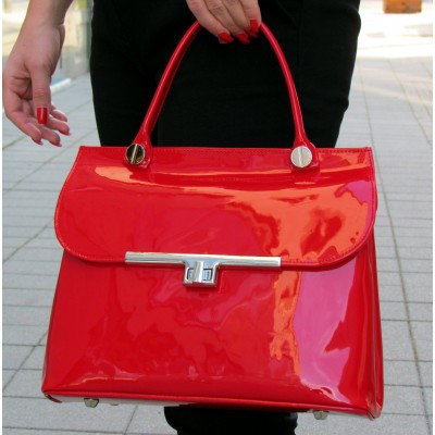 Zocal piros táska